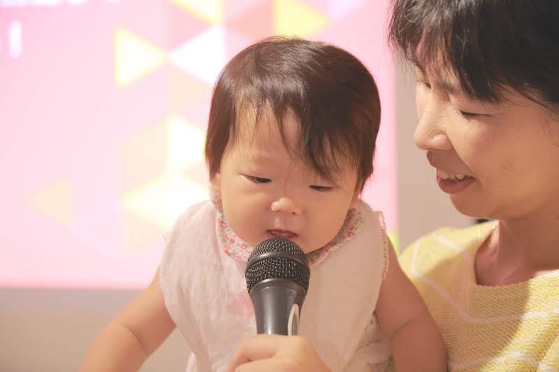 赤ちゃん連れ講演 史上初 サンクチュアリ出版 出版社講演 親子 ママ 子連れ